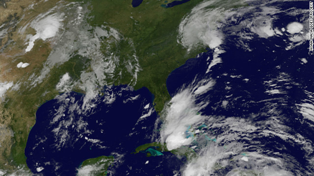 Tracking Tropical Storm Isaac