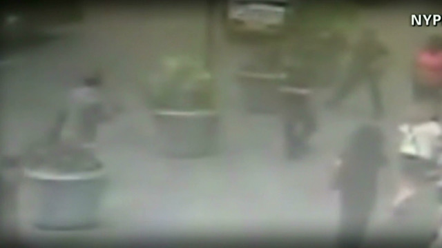 NYPD release shooting surveillance video