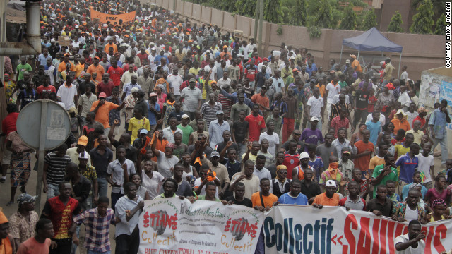 Demonstrators have taken to the streets in Togo's capital, Lome, for weeks to protest electoral reforms.