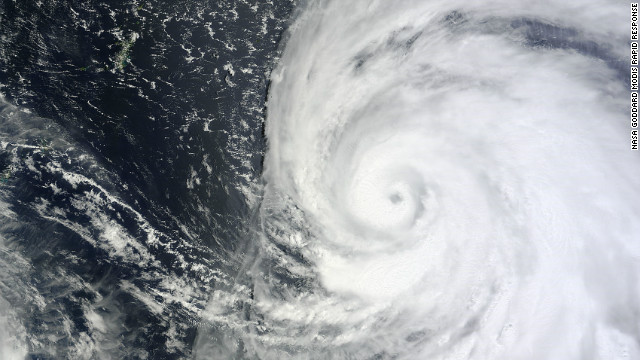 Typhoon Bolaven struck Okinawa and South Korea last month.