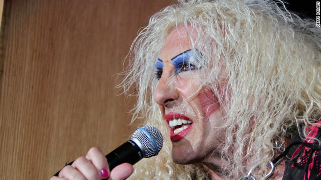 Dee Snider is the longtime lead singer of Twisted Sister.