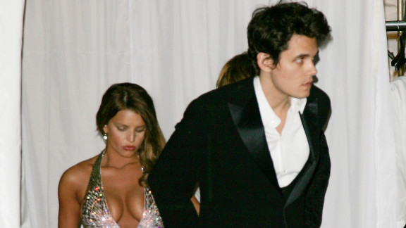 Mayer and Jessica Simpson were first linked in summer 2006. They were photographed together at Christina Aguilera