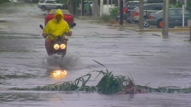 Tropical Storm Isaac drenches Key West