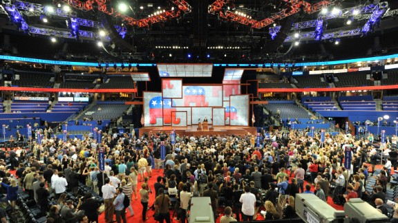 Republicans gather for their convention in Tampa, Florida, as a party with deep divisions, says Ruben Navarrette.