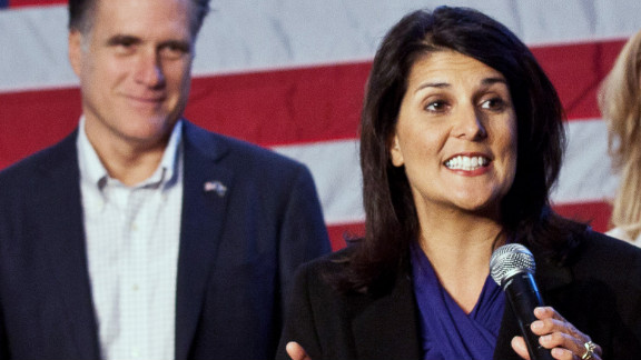 South Carolina Gov. Nikki Haley is among the Republican leaders who will be speaking at the GOP convention.