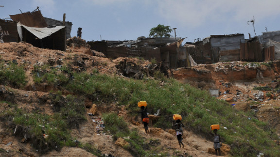 Angola, which has a population of some 18 million people, ranks 148th out of 187 countries in the U.N.'s Human Development Index.