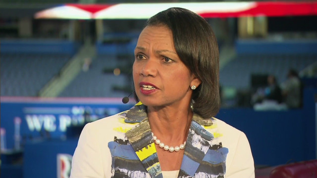 Condoleezza Rice on minority voters