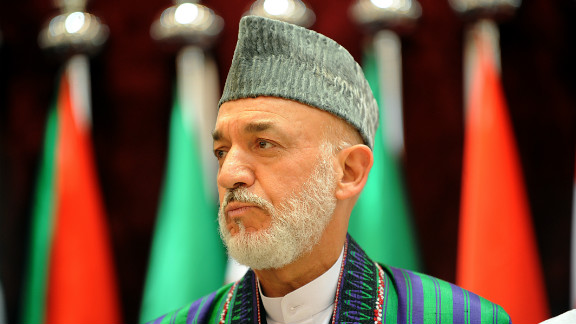 Afghan President Hamid Karzai says suicide bombing targeting spy chief was planned in Quetta