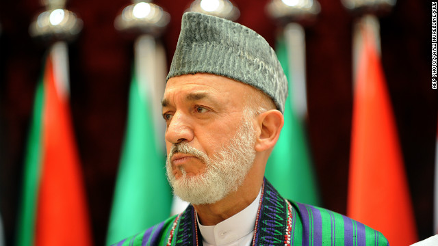 Afghan President Hamid Karzai attends an extraordinary summit of the Organisation of the Islamic Conference (OIC) in Mecca on August 14, 2012. Leaders of Muslim countries, including Iran's pro-Syrian President Mahmoud Ahmadinejad, are gathering for a meeting called by Saudi King Abdullah who is pushing to mobilise support for the Syrian rebellion. AFP PHOTO/FAYEZ NURELDINE (Photo credit should read FAYEZ NURELDINE/AFP/GettyImages)
