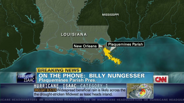 Nungesser: Wind prevents Isaac rescues