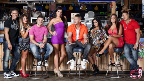 """The cast of """"Jersey Shore"""" gets unruly at times, and the show's cameras draw crowds."""