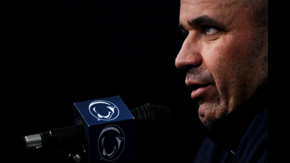 """Coach O'Brien speaks to the media. """"No matter what happens on the field, these guys have developed an unbreakable bond."""""""
