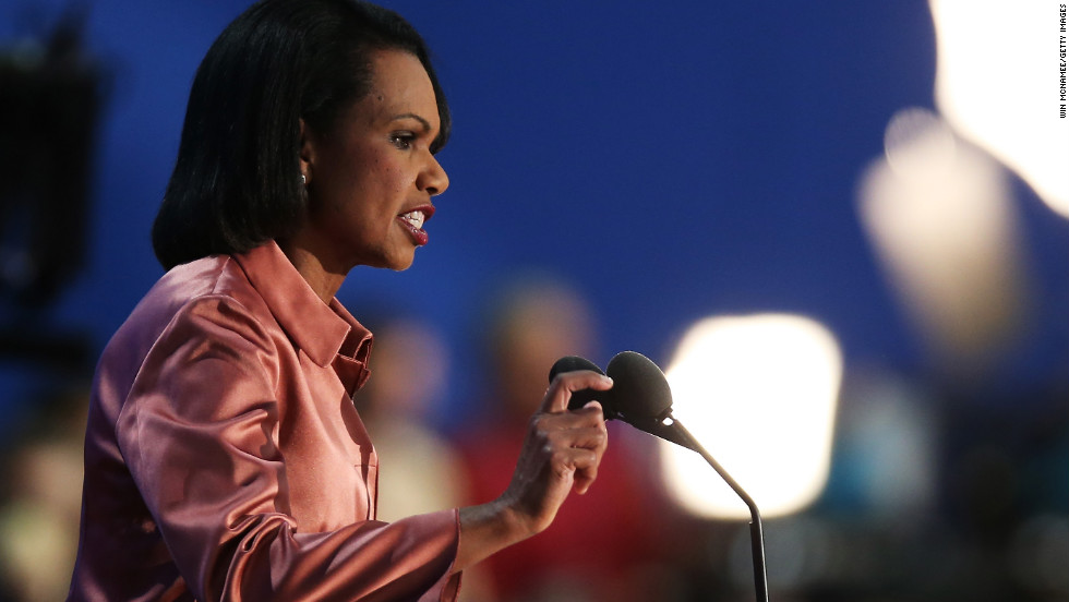 Former Secretary of State Condoleezza Rice, who served under President George W. Bush, was a registered Democrat until 1982. She voted for Jimmy Carter in the 1976 presidential election.