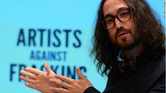 Artist Sean Lennon attended the launch of Artists Against Fracking, an activist partnership project opposed to hydraulic fracking.