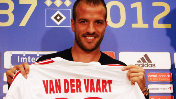 Spurs to Hamburg: The Dutch international returns to the Bundesliga after a successful two-year spell at the north London club. Van der Vaart played for Hamburg from 2005 to 2008 before joining Spanish champions Real Madrid.