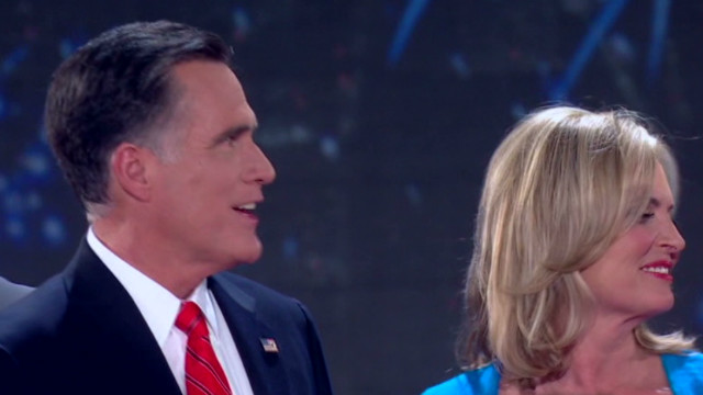 Romney's speech: Did he win the crowd?