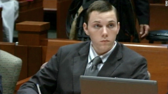 Matthew Scheidt appears in a Florida court during his trial in August.
