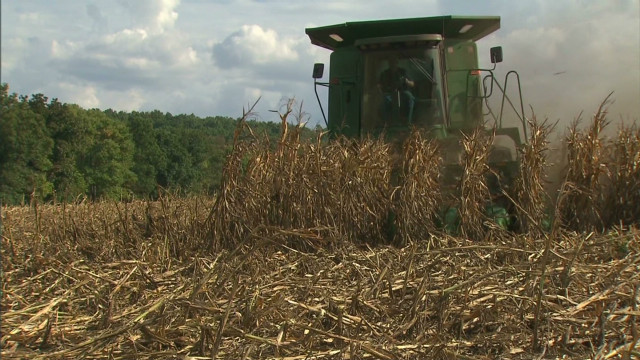 Missouri drought farmers eye Isaac