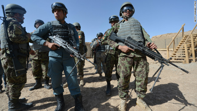 Is the Afghan military prepared?