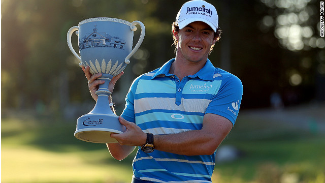 Rory McIlroy claimed the fifth PGA Tour title of his career on Monday with victory at the TPC Boston