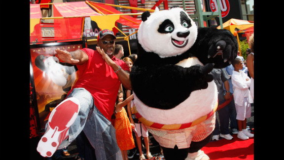 """Duncan lent his signature deep voice to a number of animated features, including 2008's """"Kung Fu Panda."""""""