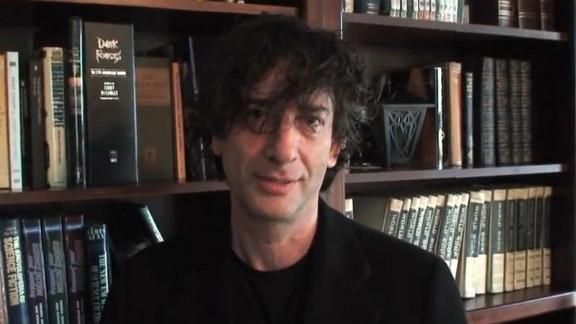 Writer Neil Gaiman was accepting a Hugo Award Sunday when copyright software shut down the live stream.
