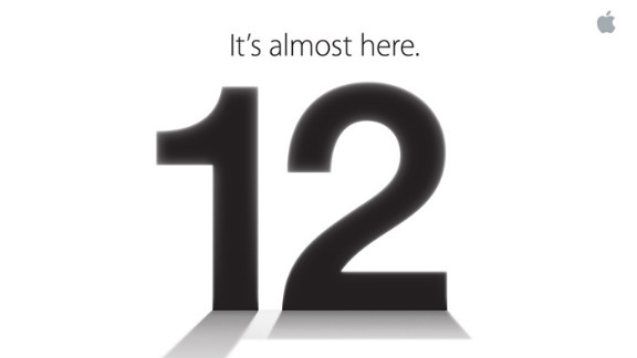 Apple sent this media invite to its September 12 event, widely expected to be the launch of the next iPhone.