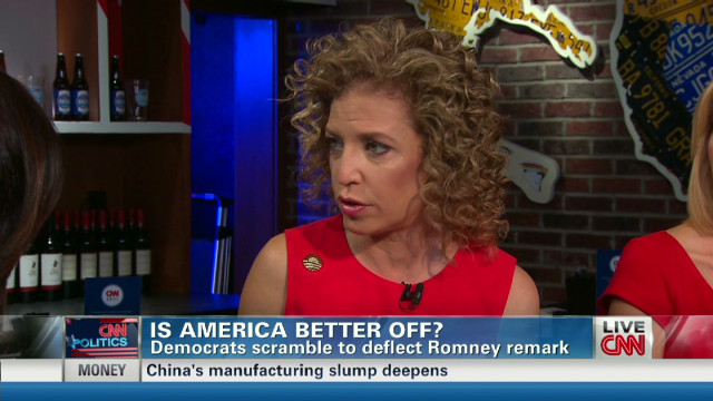 DNC chair: U.S. 'absolutely better off'