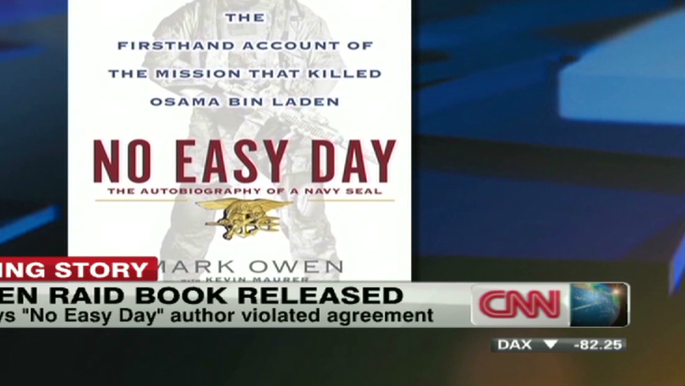 No Easy Day' author's legal trouble - CNN Video