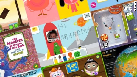 Yes, there are apps that are good for preschoolers
