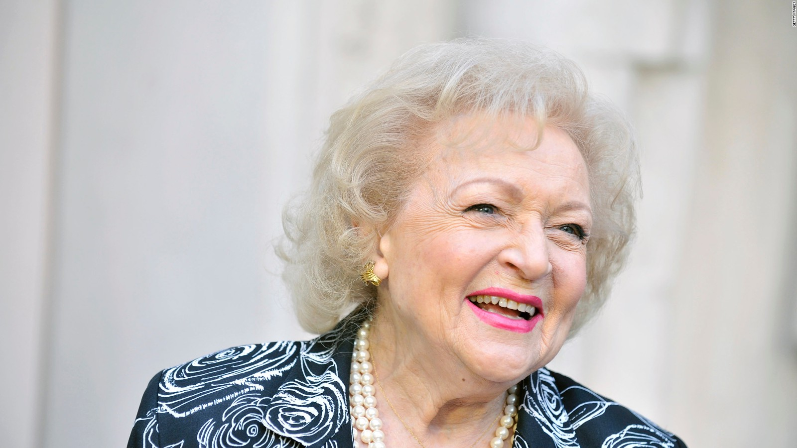 Betty white i am the luckiest old broad on two feet cnn bookmarktalkfo Images