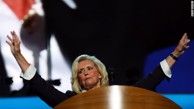 "Schlossberg: Lilly Ledbetter ""framed fair pay as both an economic and moral issue"" on night one of the DNC."