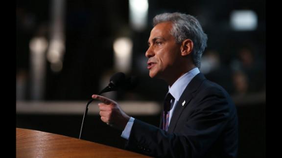 Rahm Emanuel, who served as President Barack Obama