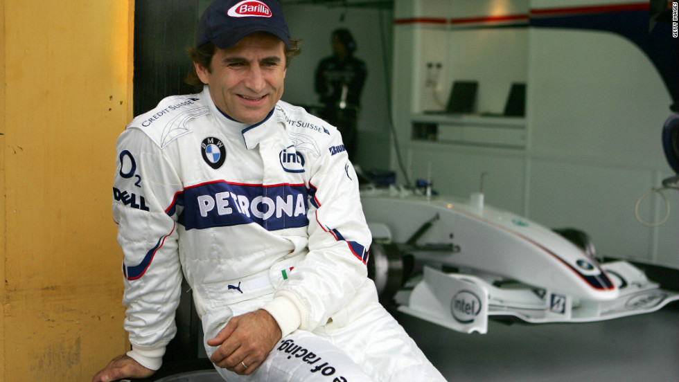 Zanardi made a successful return to motorsport after his horror crash and raced in single seaters and touring cars, using prosthetic limbs and modified vehicles.