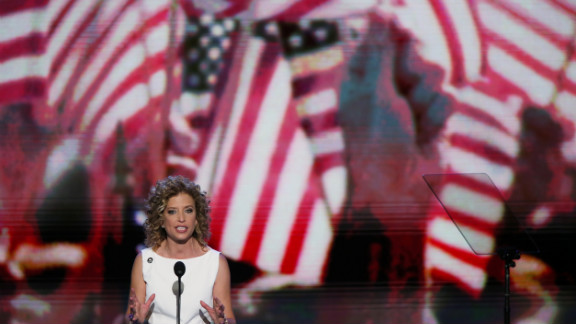 U.S. Rep. Debbie Wasserman Schultz, the Democratic National Committee chairperson, opens Tuesday