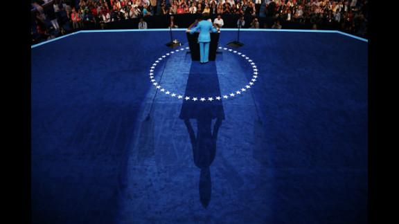 House Minority Leader Nancy Pelosi speaks Wednesday.