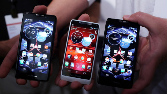 Motorola, now owned by Google, released a new line of Razr phones this summer. The Razr M will be available for $100 with contract. It runs the Android OS.