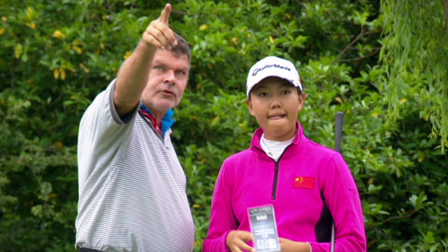 Chinese golfers prepare for Rio