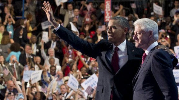 Center-stage at the Democratic National Convention, former President Bill Clinton brought down the house with what some political strategists called the political speech of his career. He also did what many criticized Barack Obama for failing to do - communicate Obama's vision for the next four years.