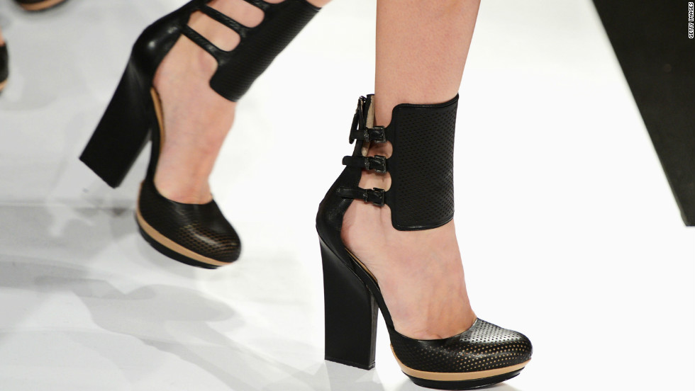 BCBGMAXAZRIA puts its best foot forward for the spring line.