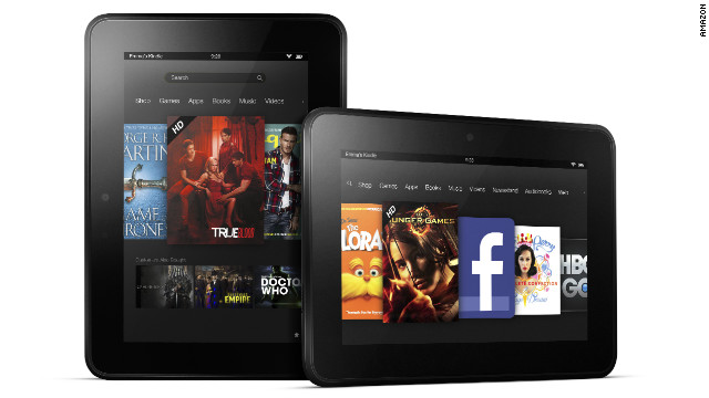 Amazon's new 7-inch Kindle Fire HD will cost $199 and ship September 14.
