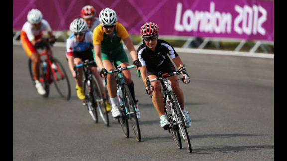 Fiona Southorn of New Zealand in action in the women