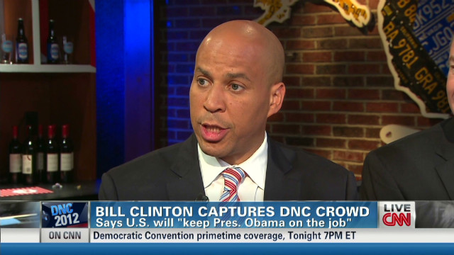 Booker: 'Hold on to your seat' for Obama
