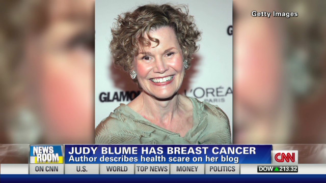 Judy Blume's breast cancer revealed