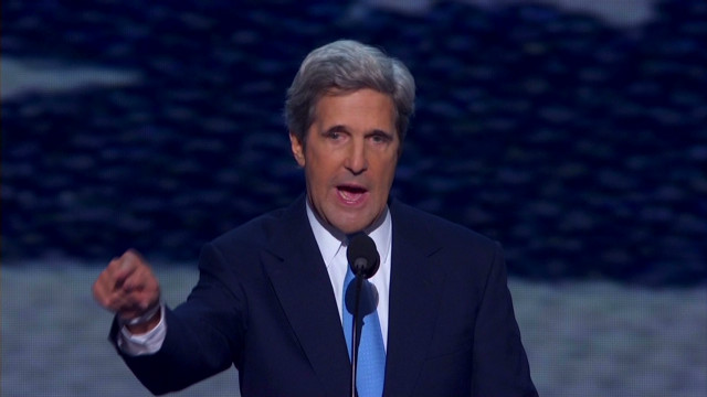 Kerry accuses Romney of flip-flopping