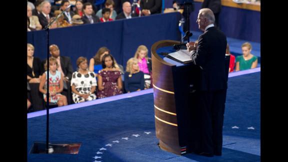 U.S. Vice President Joe Biden speaks on Thursday.