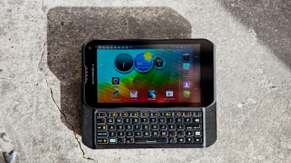 """Most smartphones have ditched tactile keyboards. Not the Motorola Photon Q. Engadget says it has """"one of the finest physical keyboards we've used on an Android device."""""""