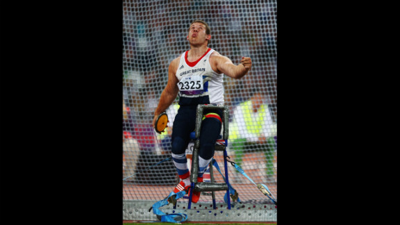 Kieran Tscherniawsky of Great Britain competes in the men