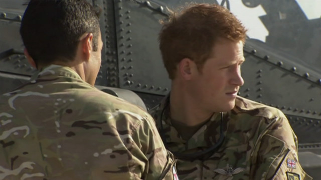 Prince Harry was deployed to Afghanistan in his role as an Army helicopter pilot, the UK military announced on September 7, 2012.