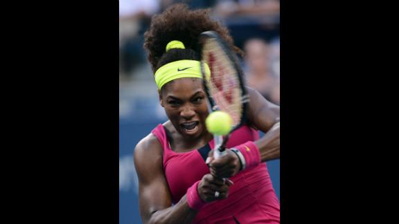 Williams makes a return in her match against Errani.